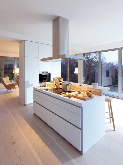 Cucina componibile lineare B1  Cucina con isola - Bulthaup