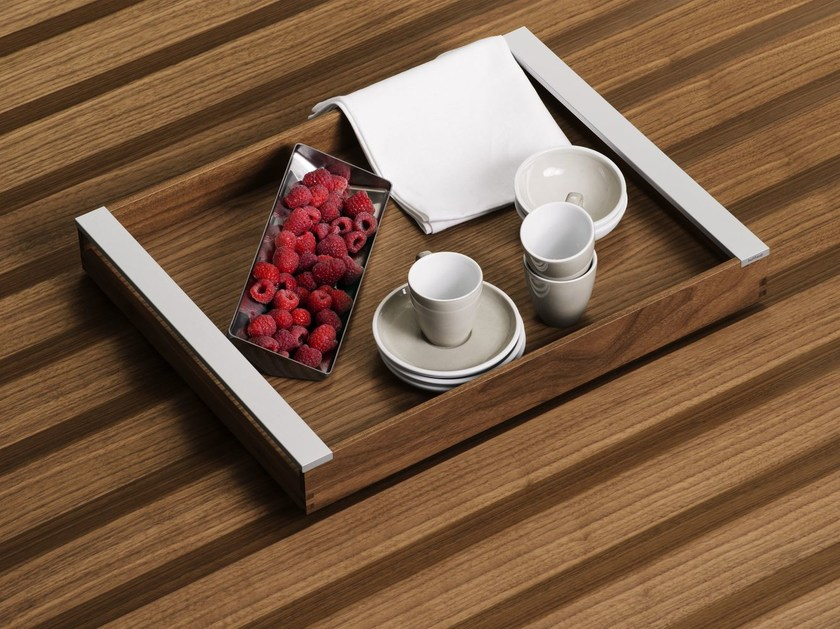 Walnut tray B3 INTERIOR SYSTEM   Walnut tray by Bulthaup