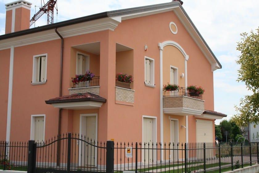 Pittura esterno casa decorazioni esterne per finestre - Cornici per finestre esterne prezzi ...