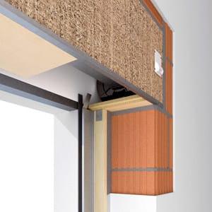 Cassonetto per avvolgibile cassonetto df termoacustico - Isolamento cassonetti finestre ...