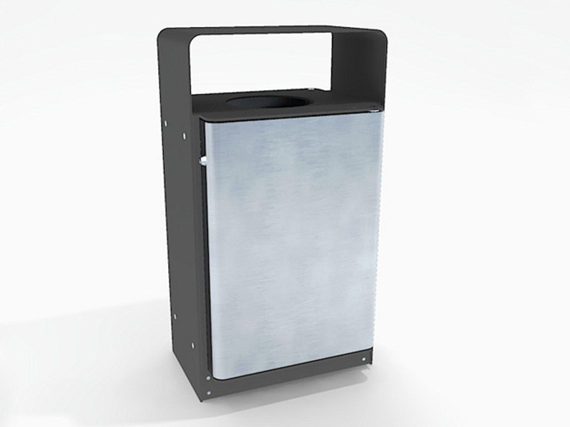Steel waste bin MURTON | Waste bin - Factory Street Furniture