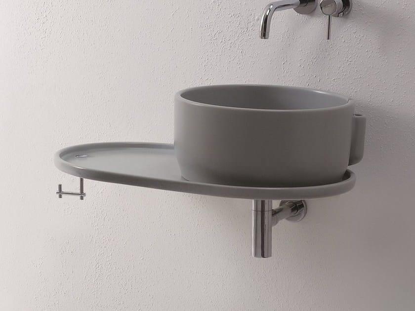 Washbasin countertop UKIYO-E   Washbasin countertop - Olympia Ceramica
