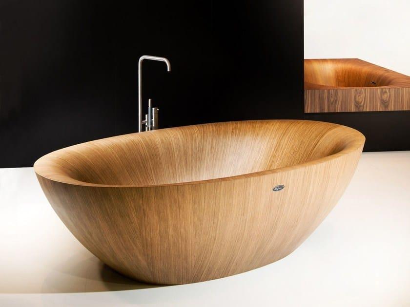 laguna pearl alegna vasca da bagno centro stanza ovale
