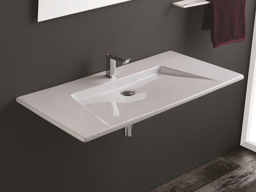 Wall-mounted washbasin CRYSTAL   Washbasin - Olympia Ceramica