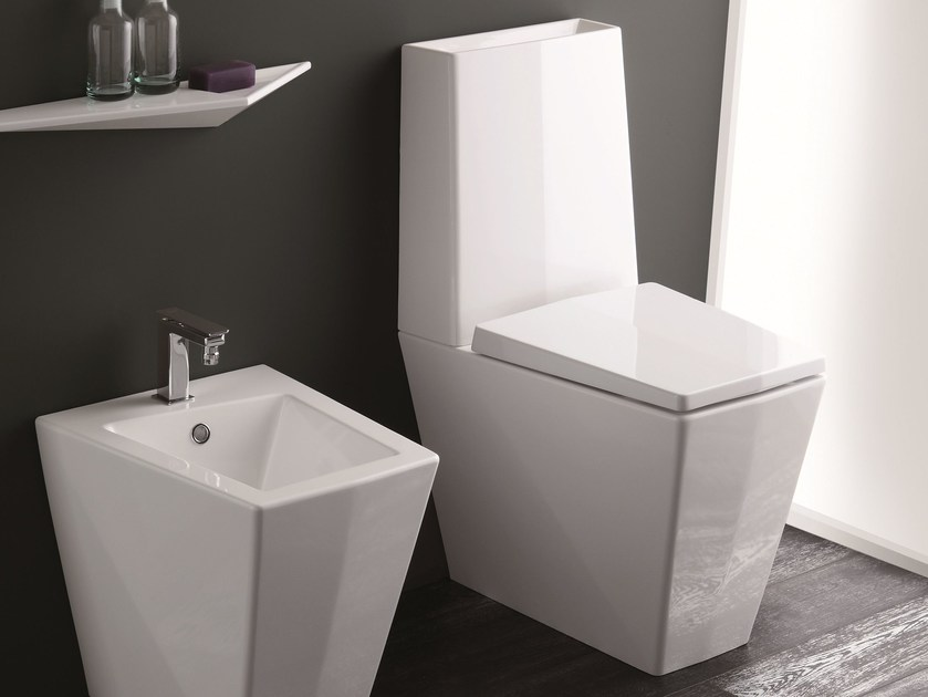 Close coupled toilet CRYSTAL | Close coupled toilet - Olympia Ceramica
