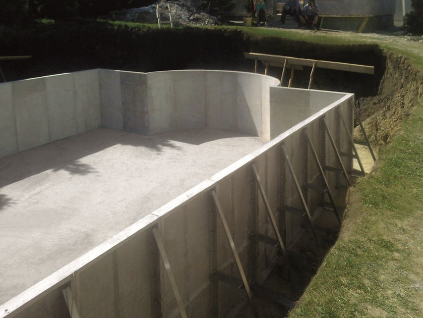 Piscina en kit de fibrocemento Modular swimming pool - CAROBBIO
