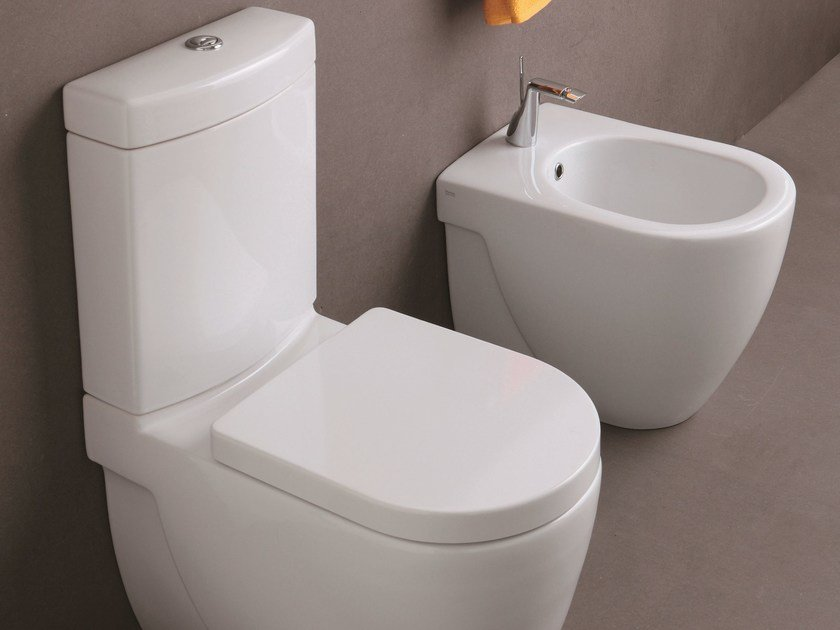 Close coupled toilet NICOLE | Close coupled toilet - Olympia Ceramica