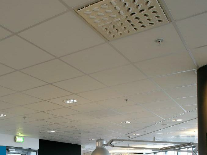 Acoustic rock wool ceiling tiles ROCKFON® Ekla® Relief - ROCKFON - ROCKWOOL ITALIA
