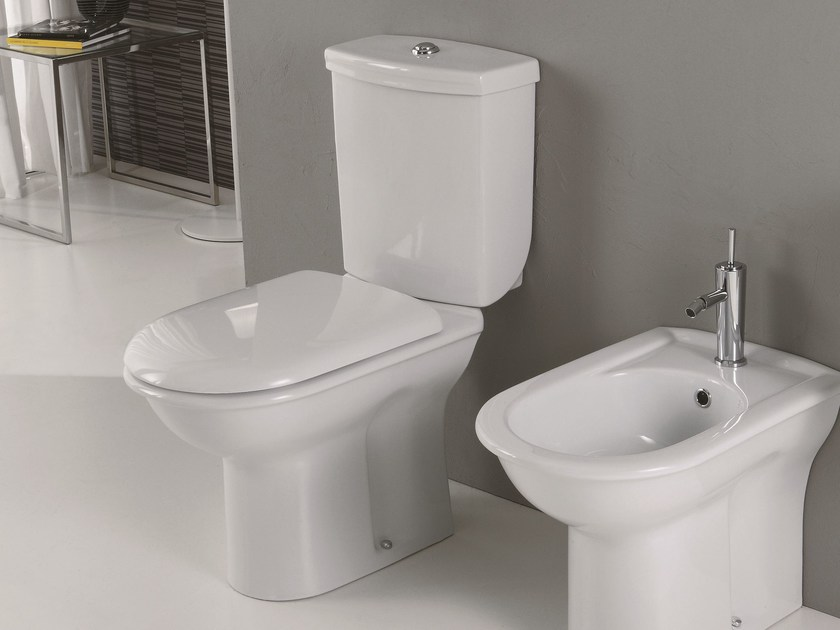 Close coupled toilet FEDERICA | Close coupled toilet - Olympia Ceramica