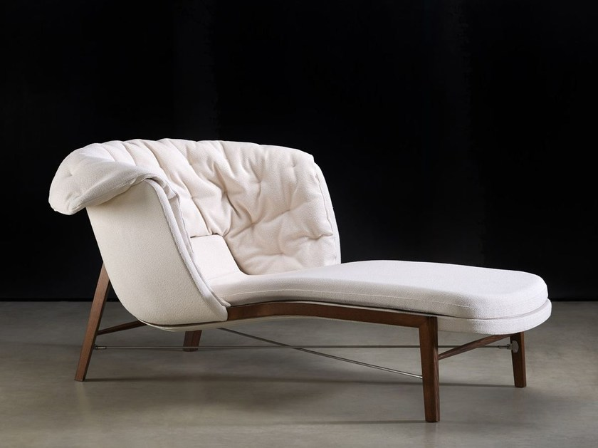 Fabric lounge chair CLEO | Lounge chair - ROSSIN