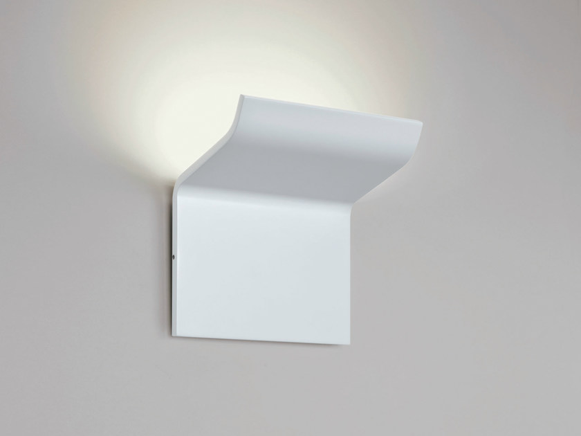 LED aluminium wall light SILHOUETTE W1 - Rotaliana