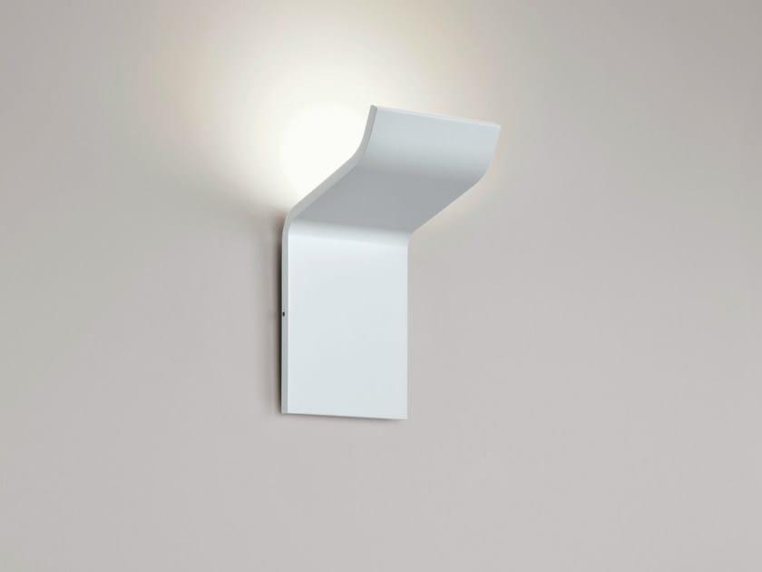 LED aluminium wall light SILHOUETTE W0 - Rotaliana