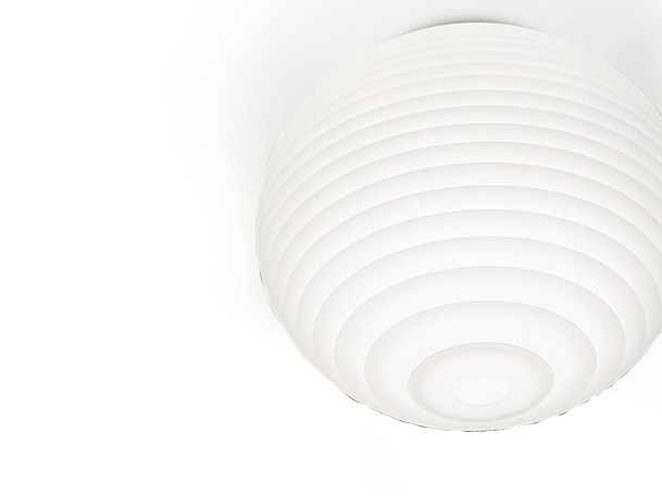 Halogen polycarbonate ceiling lamp FLOW H3 - Rotaliana