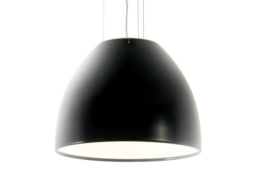 Steel pendant lamp DRINK H4 - Rotaliana