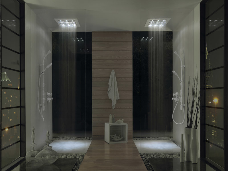 Overhead shower ALL WHITE TREND by Bossini
