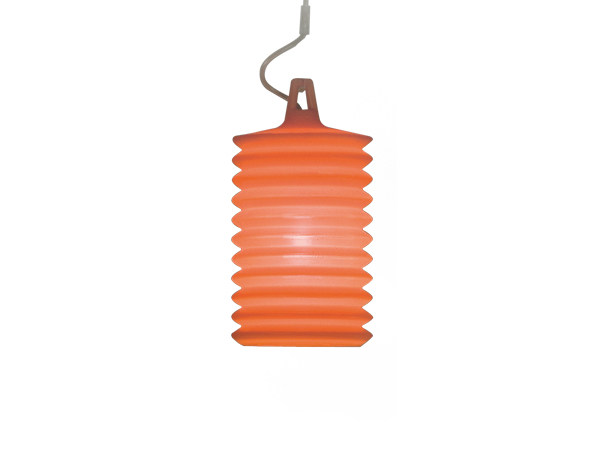 Silicone pendant lamp LAMPION H1 by Rotaliana