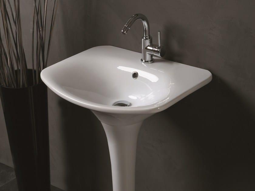 Pedestal washbasin FORMOSA | Pedestal washbasin - Olympia Ceramica