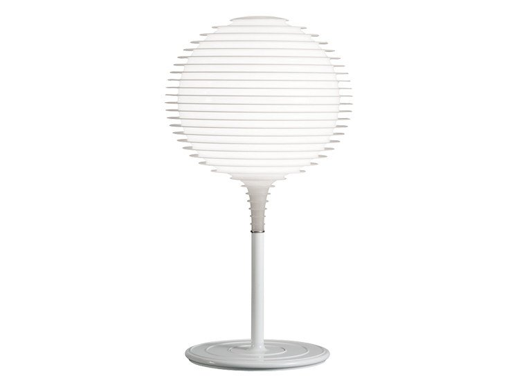 Halogen polycarbonate table lamp FLOW T1 - Rotaliana