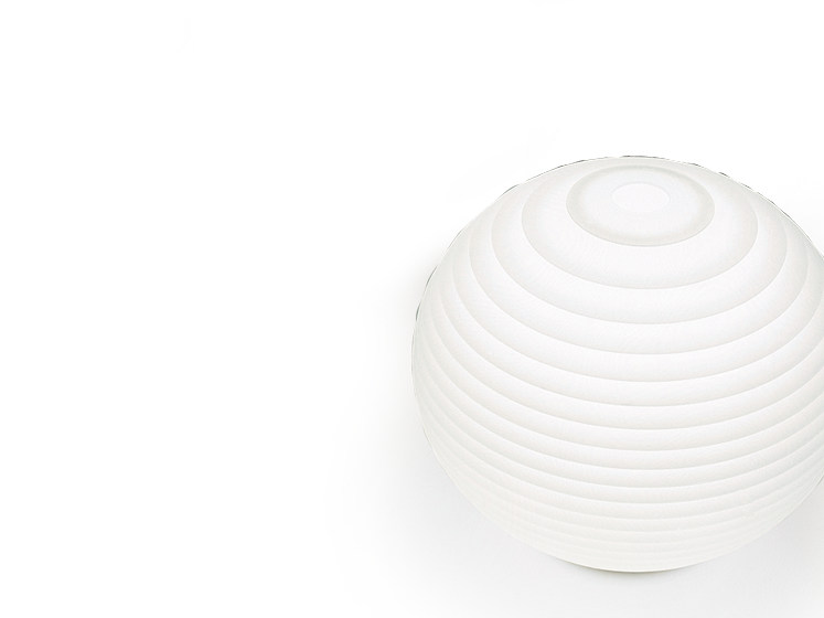 Halogen polycarbonate table lamp FLOW T3 - Rotaliana