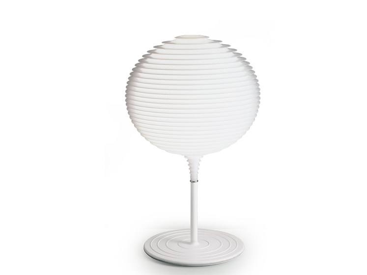 Halogen polycarbonate table lamp FLOW T2 - Rotaliana