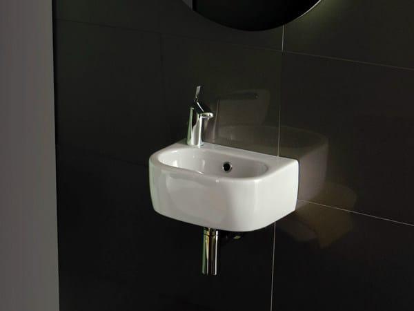 Wall-mounted washbasin NICOLE | Wall-mounted washbasin - Olympia Ceramica