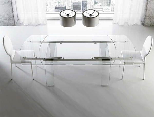 Extending dining table LORD | Extending table - RIFLESSI