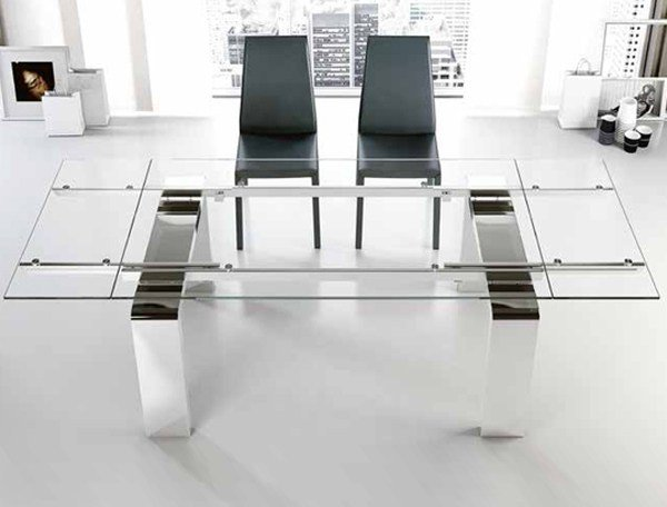 Extending dining table MITO/L | Extending table - RIFLESSI