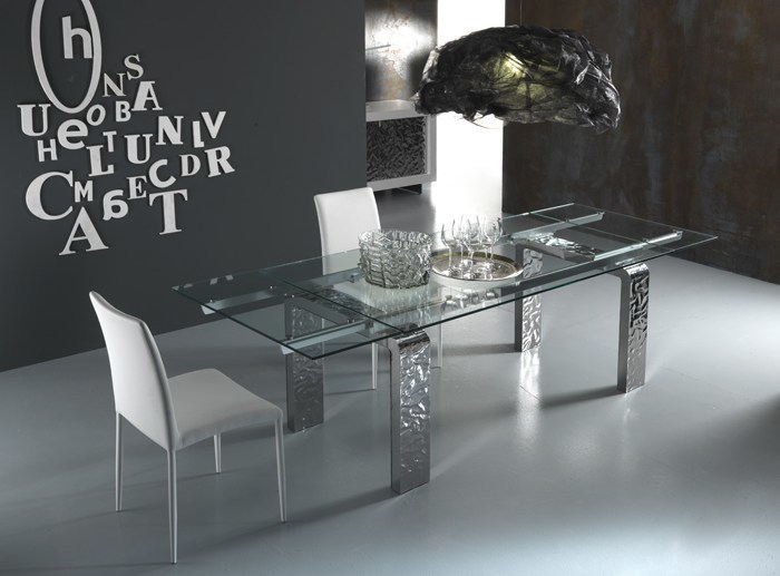 Extending kitchen table MITO/S | Extending table - RIFLESSI