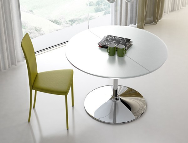Extending stainless steel table SMALL | Extending table - RIFLESSI