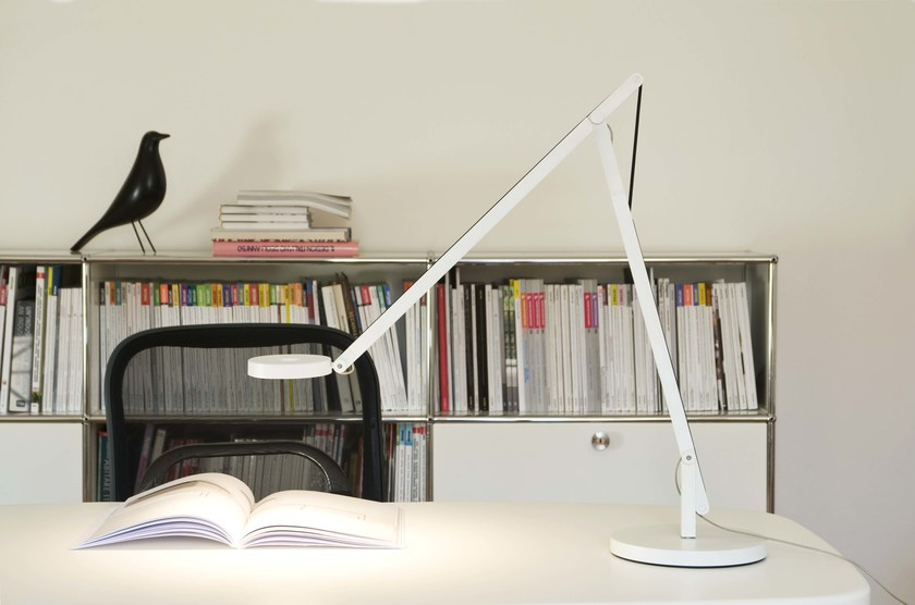 LED aluminium desk lamp STRING T1 - Rotaliana