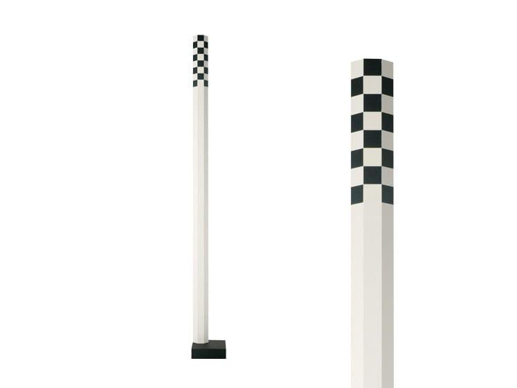 LED aluminium floor lamp CIMINIERA F2 - Rotaliana