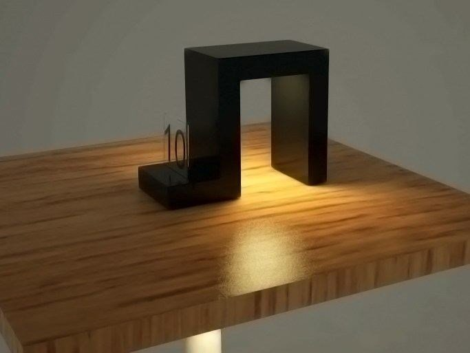 LED table lamp ORTHOS | Table lamp - Zuri Design