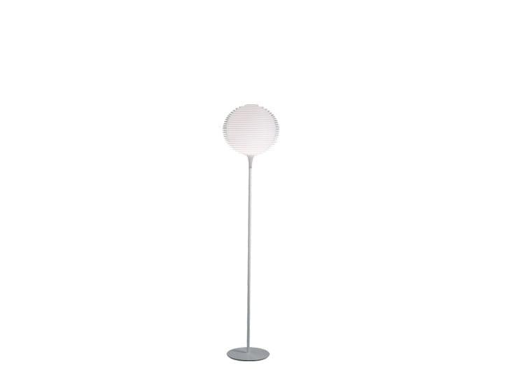 Halogen polycarbonate floor lamp FLOW F1 - Rotaliana