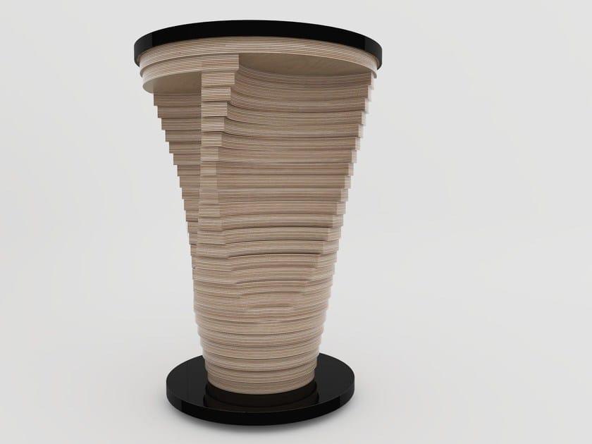 Round high table STRATUM | High table by Zuri Design