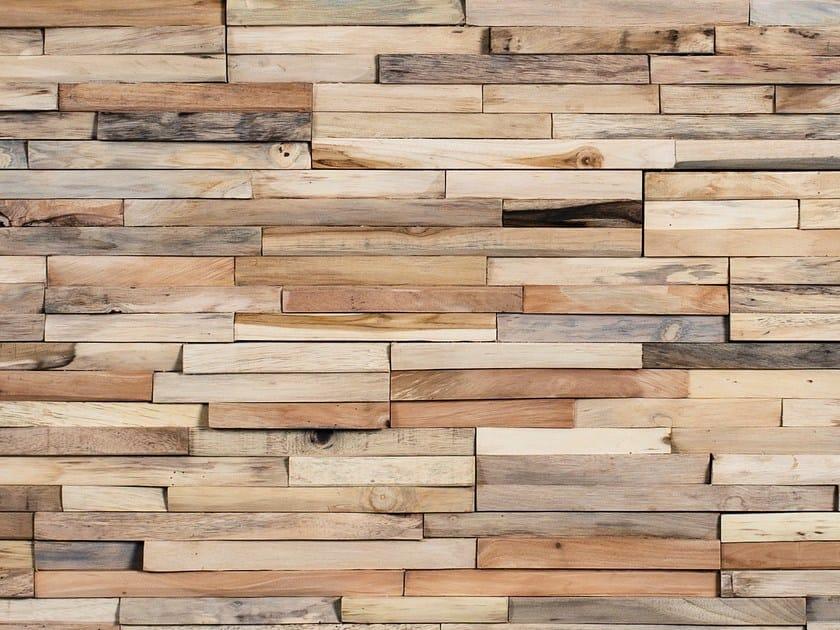 Rivestimento tridimensionale in legno mercury wonderwall - Rivestire parete in legno ...