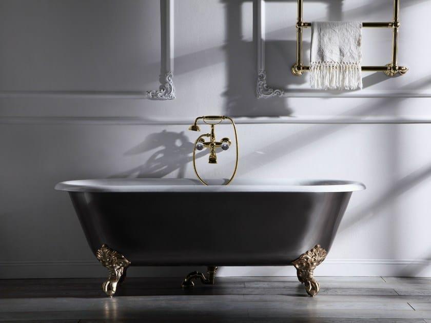 Neoclassical style freestanding bathtub IMPERO STYLE | Freestanding bathtub by Rubinetteria Giulini