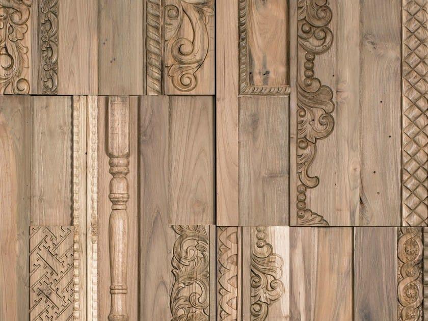 Rivestimento tridimensionale in legno per interni PHOENIX by Wonderwall Studios