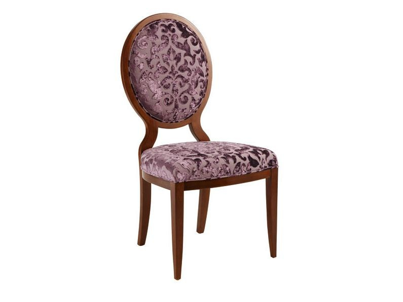 Medallion upholstered chair HUGO | Chair - SELVA