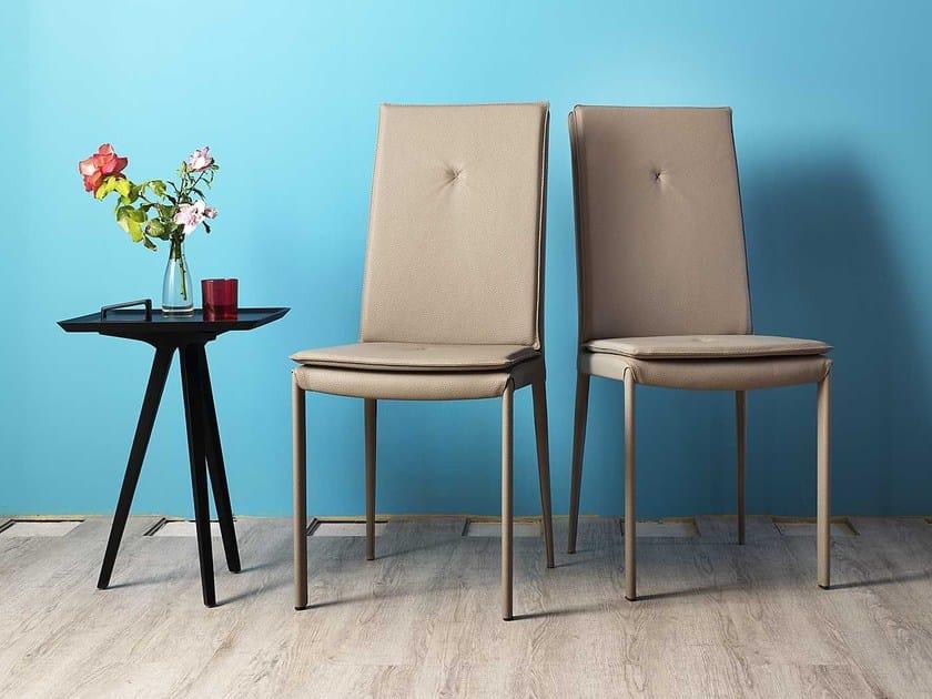 Imitation leather chair YUUKI - Miniforms