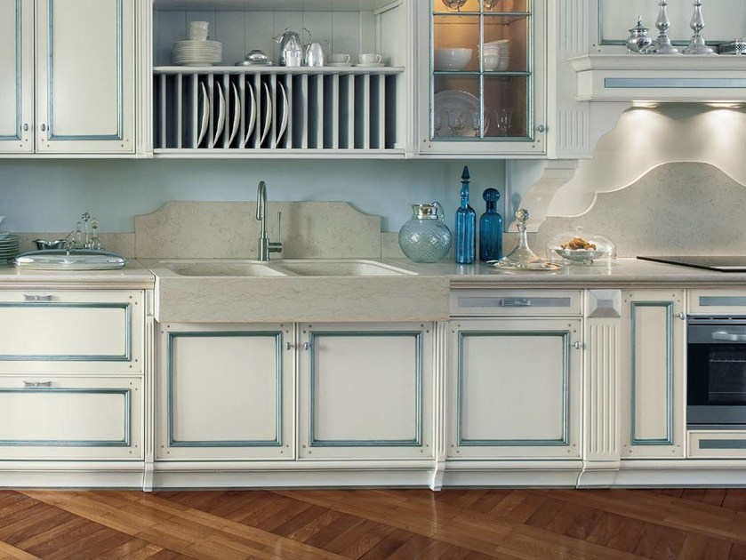 Cucina laccata in tiglio in stile veneziano fortuna gd - Cucina barocco veneziano ...