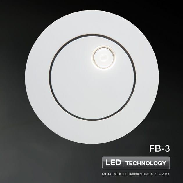 LED built-in lamp for false ceiling FB - METALMEK ILLUMINAZIONE