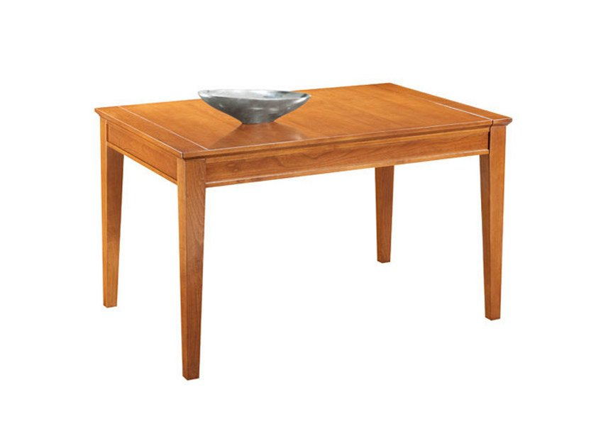 Extending rectangular wooden table SOPHIA | Table - SELVA