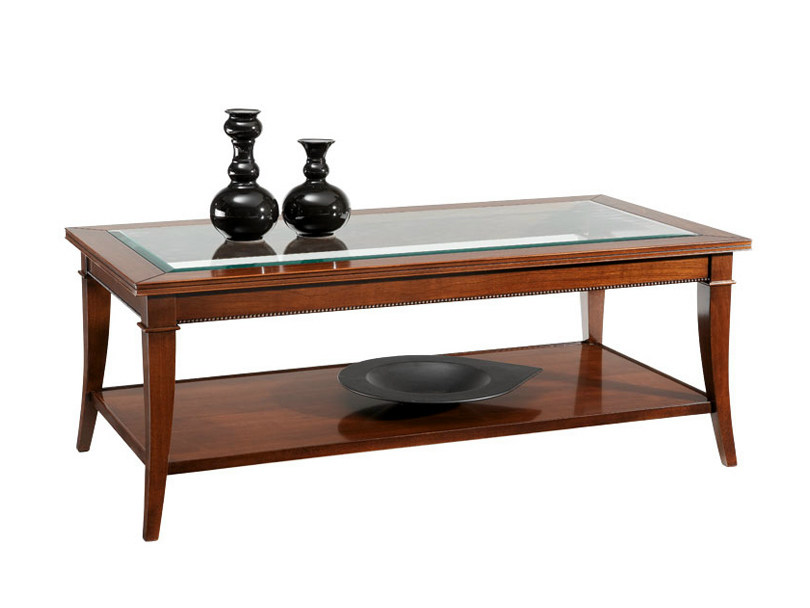 Low rectangular coffee table ERIK | Rectangular coffee table - SELVA