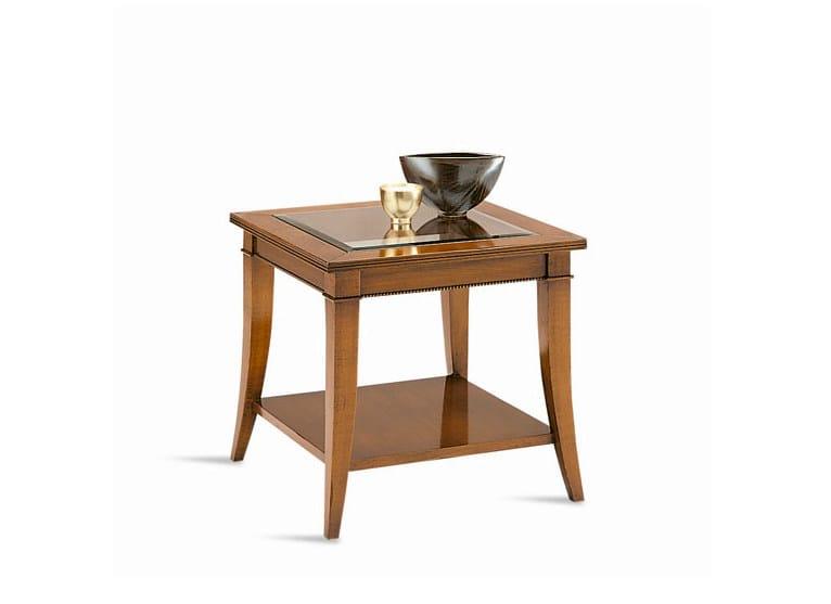 Low square coffee table ERIK | Coffee table - SELVA