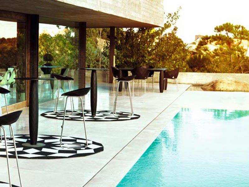 Sled base garden stool VASES | Garden stool - VONDOM