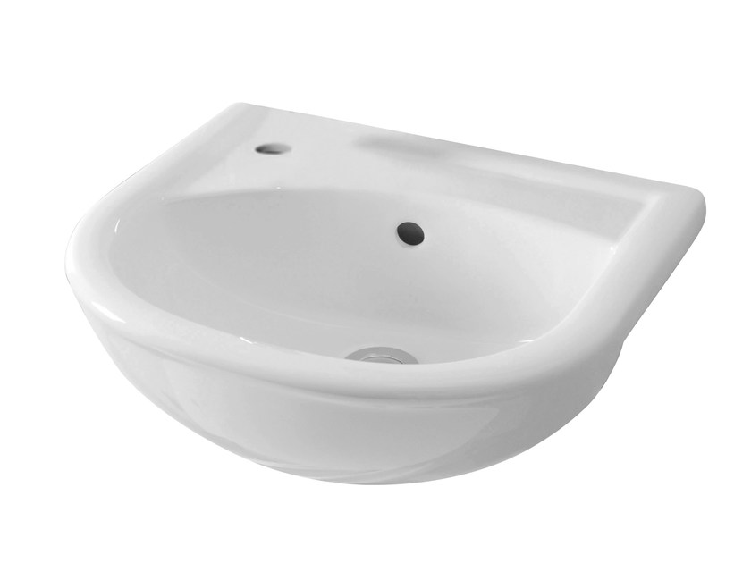 Semi-inset washbasin FEDERICA | Semi-inset washbasin - Olympia Ceramica
