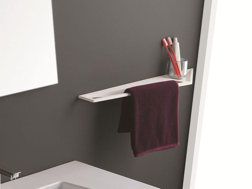 crystal mensola bagno porta asciugamani