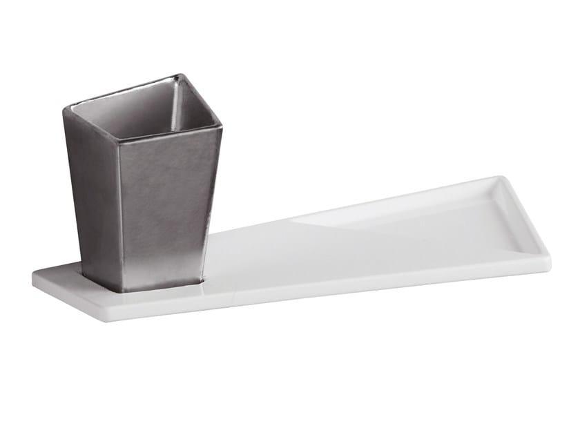 Ceramic bathroom wall shelf CRYSTAL   Bathroom wall shelf - Olympia Ceramica