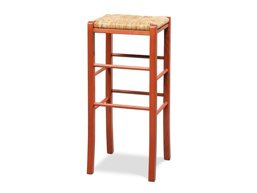 High beech stool PAESANA 485 X - Palma