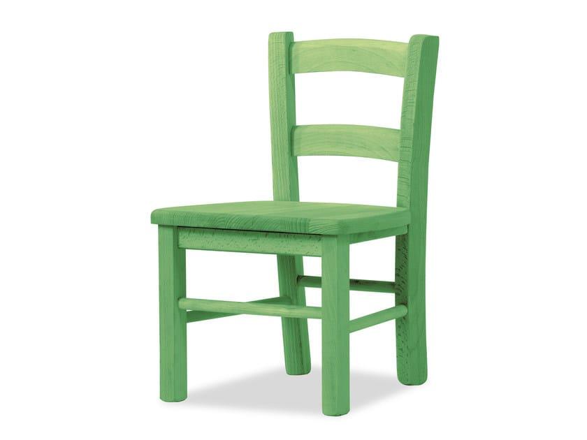 Beech kids chair BABY 496 - Palma
